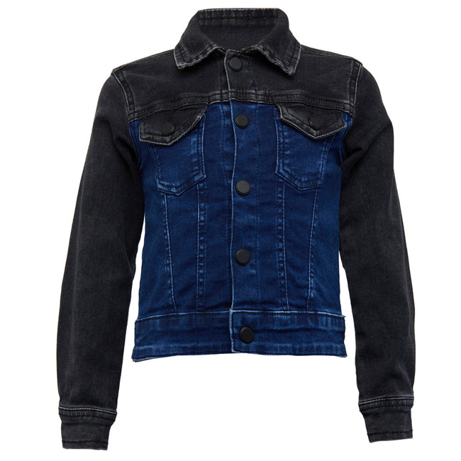 Boys Jacket Blue & Black