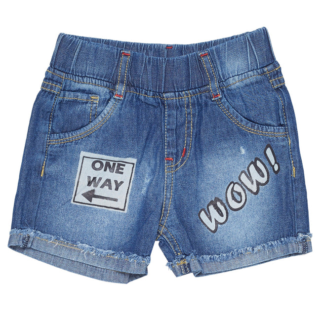 Boys Shorts Dark Blue