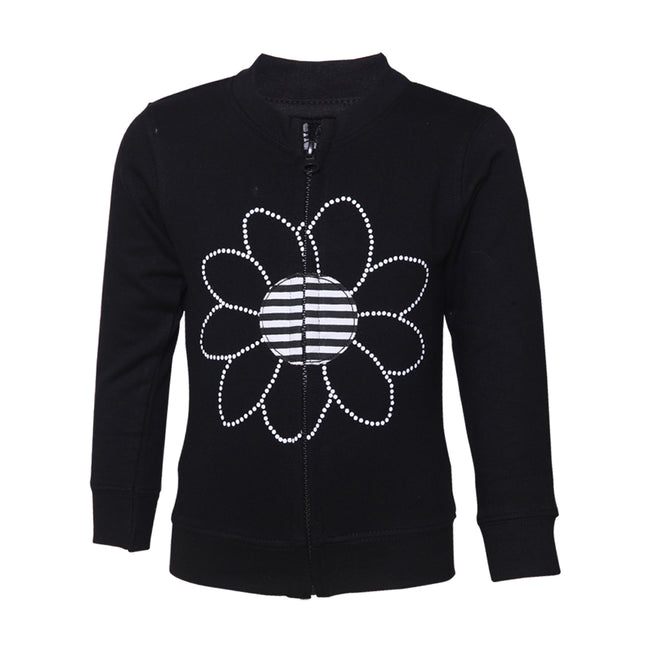 Girls Sweatshirt Black