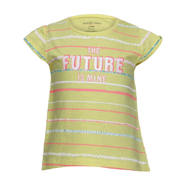 Girls T-Shirts Yellow