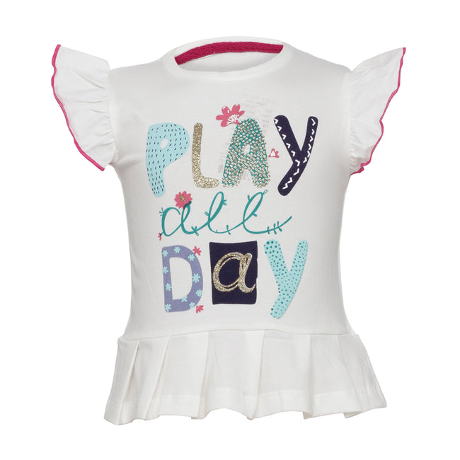 Girls T-Shirts White