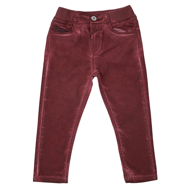 Boys Trouser Maroon