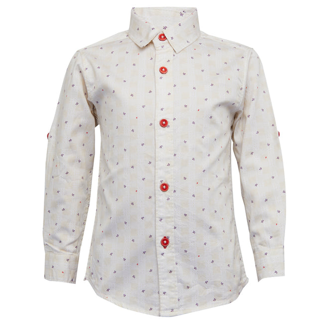 Boys Shirt Cream