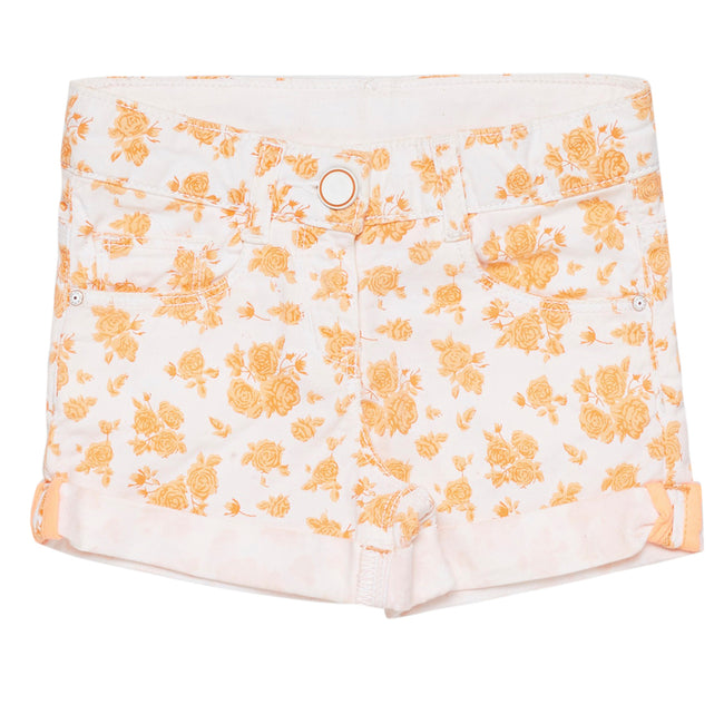 Girls Short Orange