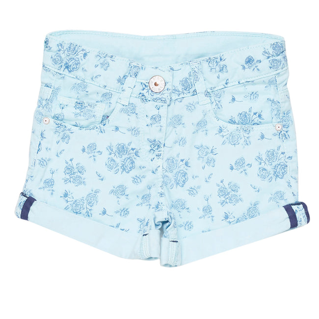 Girls Short Sku Blue