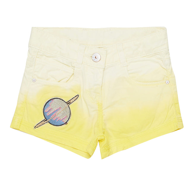 Girls Short Yellow