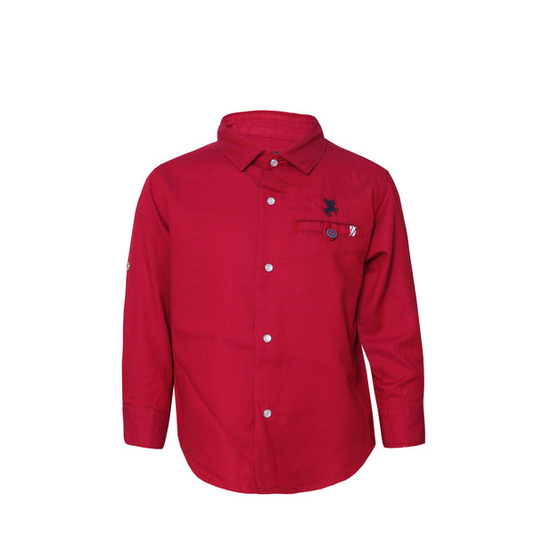 Boys Shirt Red
