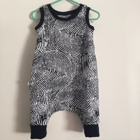 Fingerprint Romper