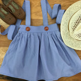 Lilac Suspender Skirt