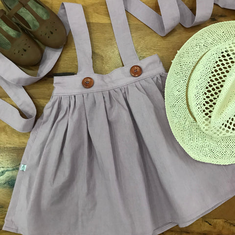 Lavender Suspender Skirt