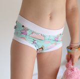 Glam Mermaids in Pink Undies