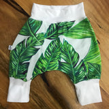 Leaf Harem Pants