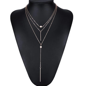 The Triple Pendant Choker