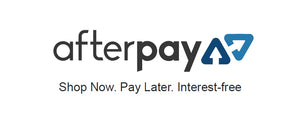 We now have Afterpay payment options!
