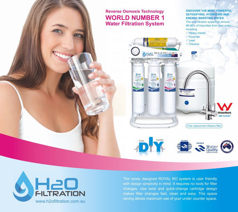 H2O Filtration Royal RO RS-108