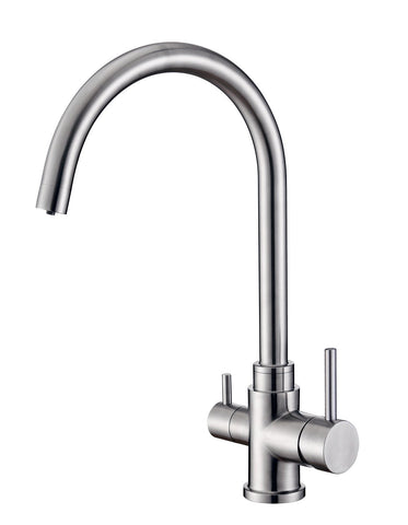 Three Way Flick Mixer Faucets