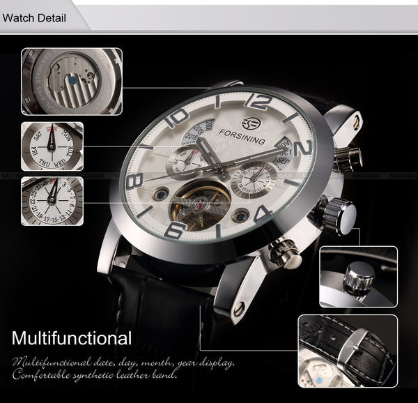 Novelty 165M3 Automatic Mechanical Watch Detailed Features