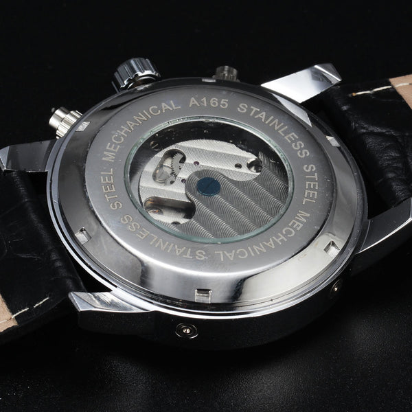 Novelty 165M3 Automatic Mechanical Watch Transparent Back Case