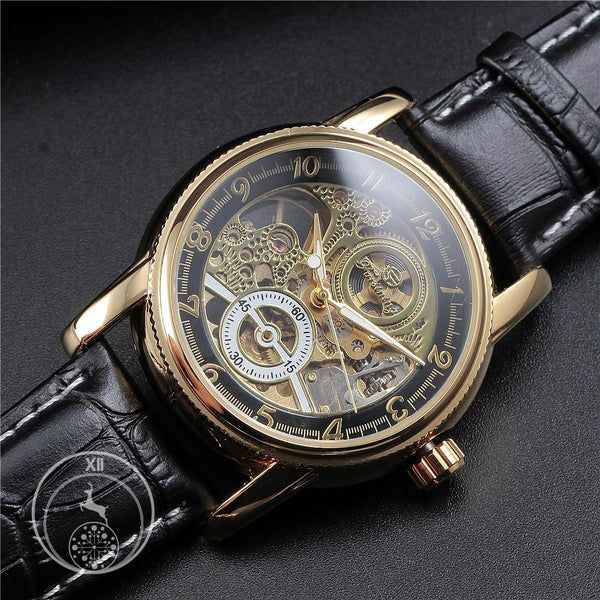 Black Gold Classic Dial Skeleton Watch ATMC Watch Singapore
