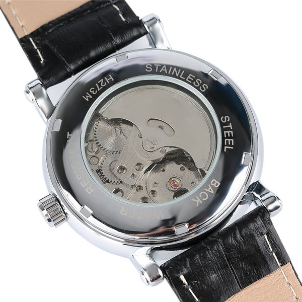 Sun Moon Phase Mechanical Watch SIngapore Visible Case Back