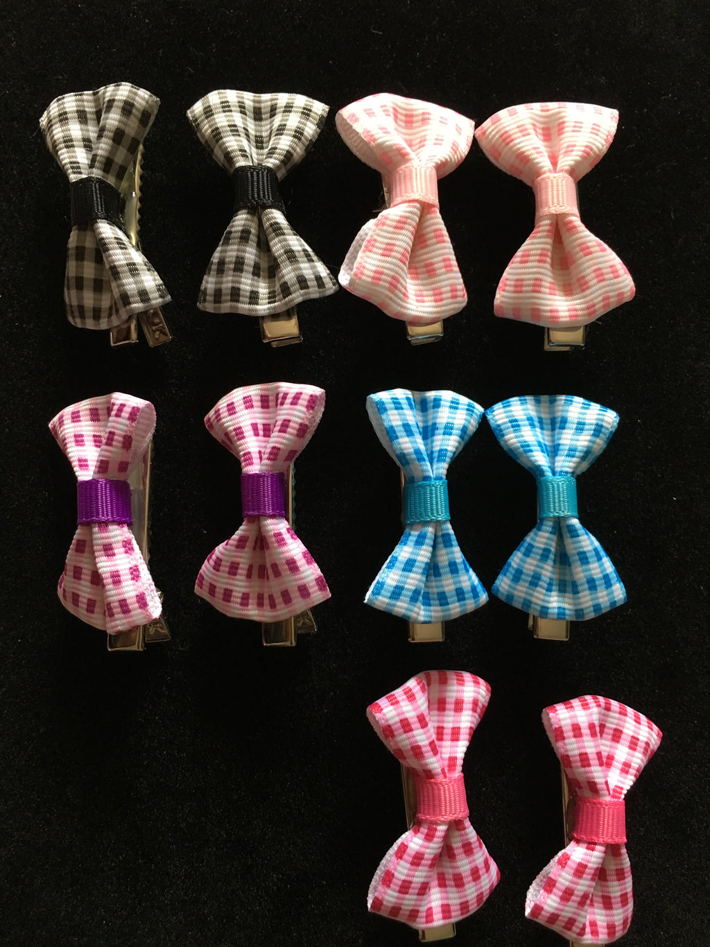 MINI BOW CLIP SET  #2