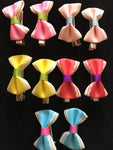 MINI BOW CLIP SET #4