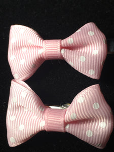 MINI BOW CLIP SET #7