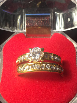 $10 GOLD TONE RINGS NOW $5