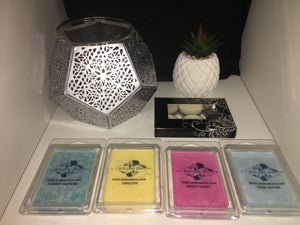 HEX TEALIGHT BURNER SET