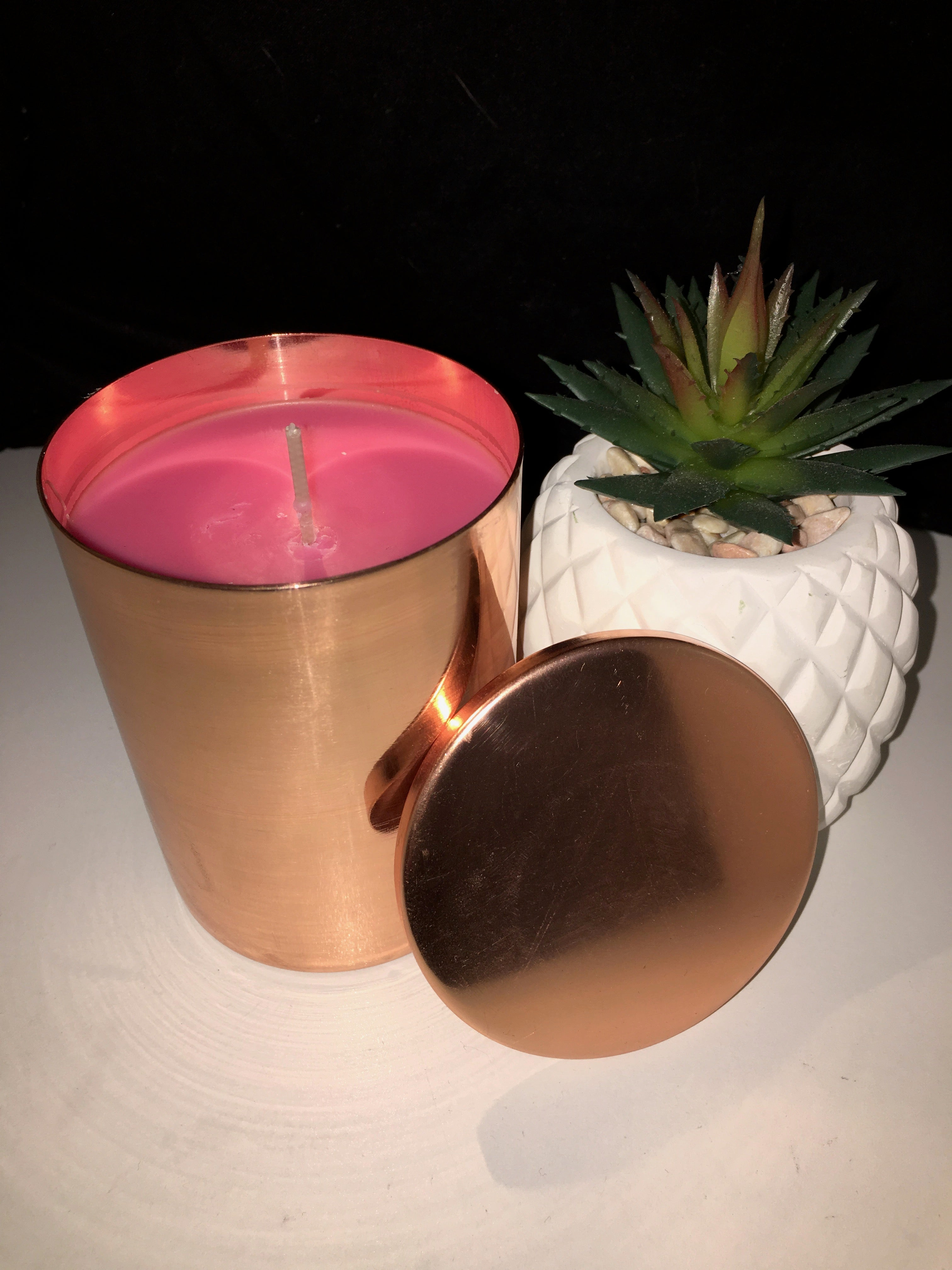 COPPER VESSEL 300ML CANDLE