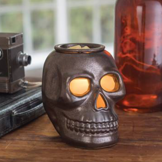 SKULL ILLUMINATION MELTS WARMER