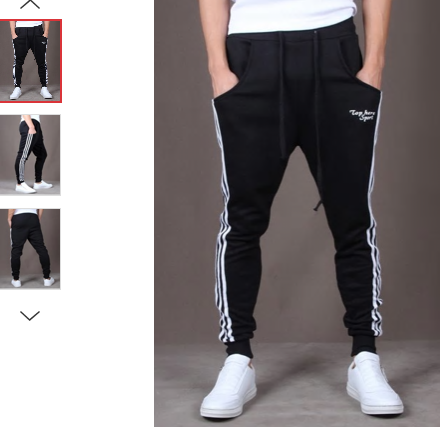 YOUTH CASUAL TRACK PANTS