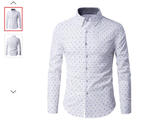 MENS/YOUTH RHOMBUS PATTERN BUTTON UP SHIRT