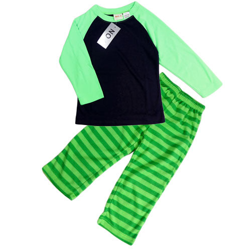 BOYS (2-6) PJS SET GREEN