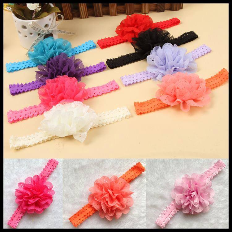 BABIES MEDIUM FLOWER HEADBANDS