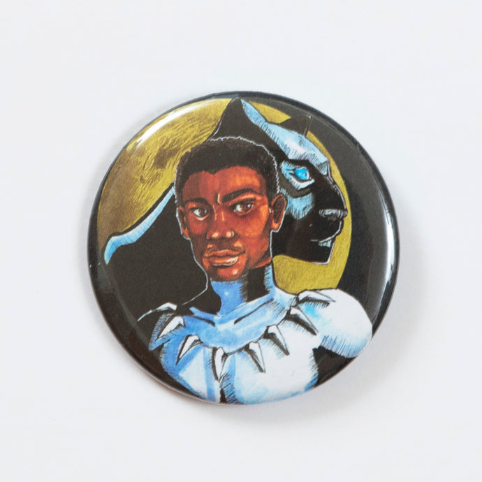 Black Panther Buttons
