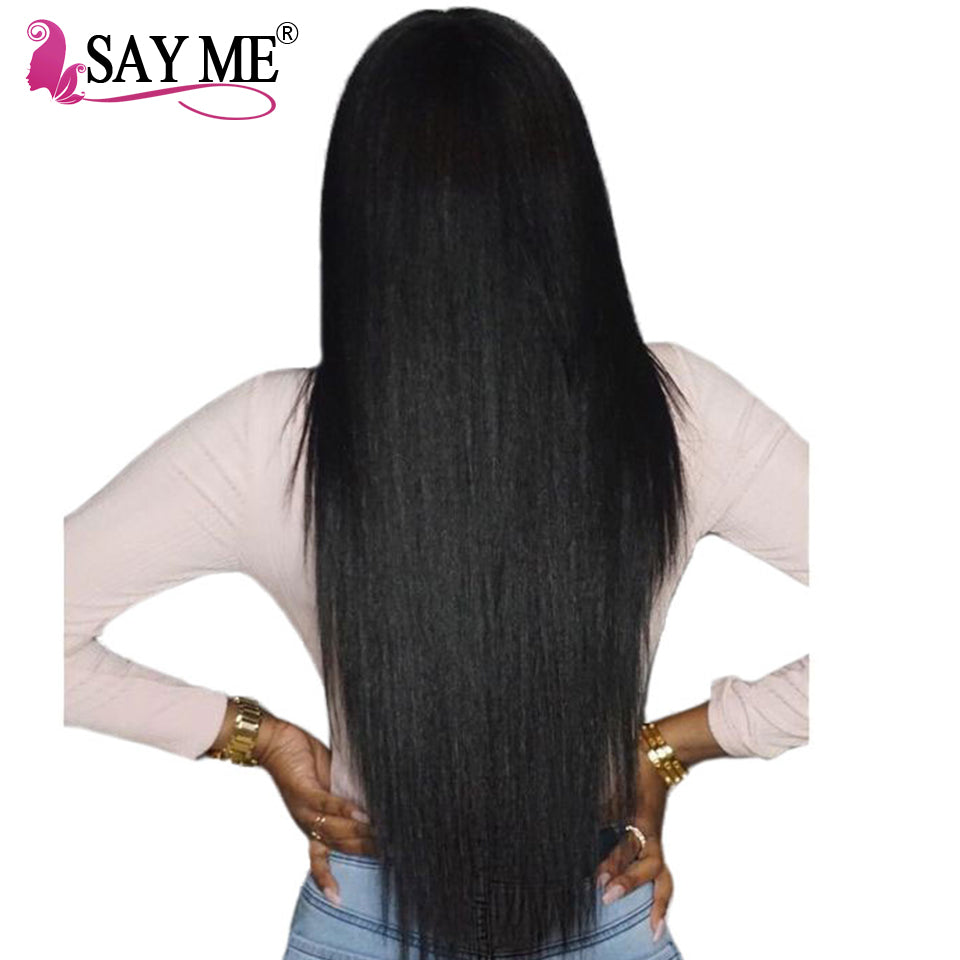 Brazilian Straight Weave Human Hair With Closure Non Remy Bargain
