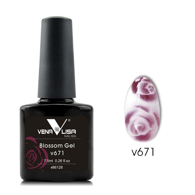 12 Color Nail Art Beauty Manicure Diy Nail Design Flower Blooming
