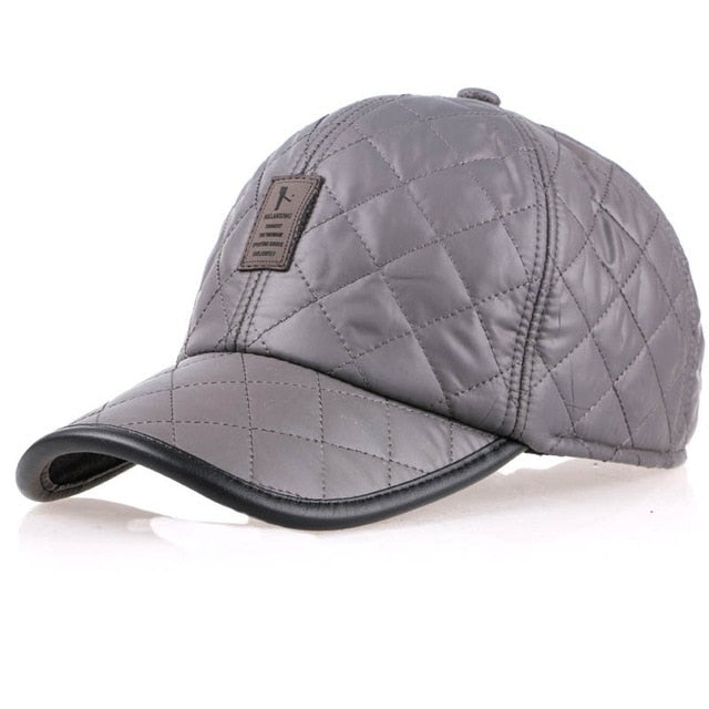 1912315794a4d Baseball Caps with Ears Motorcycle Cap Golf Hat Waterproof Casual Winter Hat
