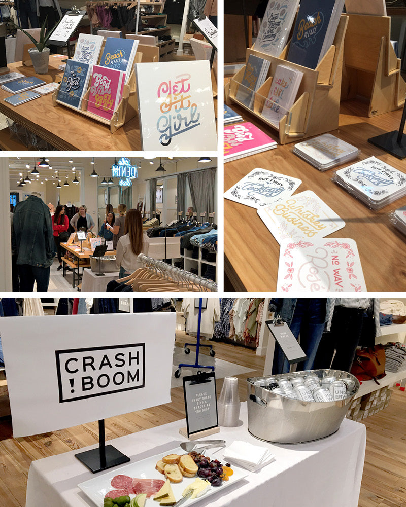 crashboom madewell popup product april moralba greeting card designs