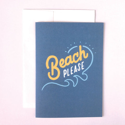 Beach Please 5x7