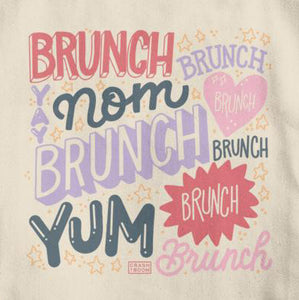 Brunch Cotton Tote Bag