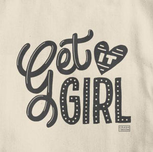 Get It Girl Cotton Tote Bag