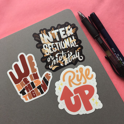 Unified Sticker Pack - 3 Stickers