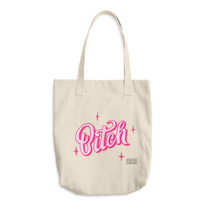 Cute B Cotton Tote Bag