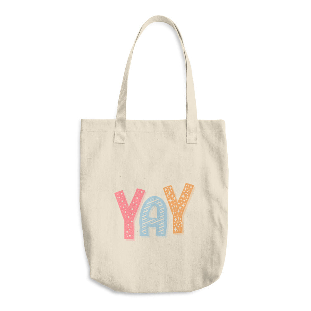 Yay Cotton Tote Bag