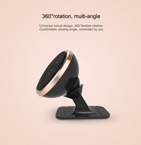 Baseus Magnetic Mount Phone Holder 360 Degree Rotation Safe For All Devices