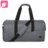 Smart duffel with side pocket for shoes