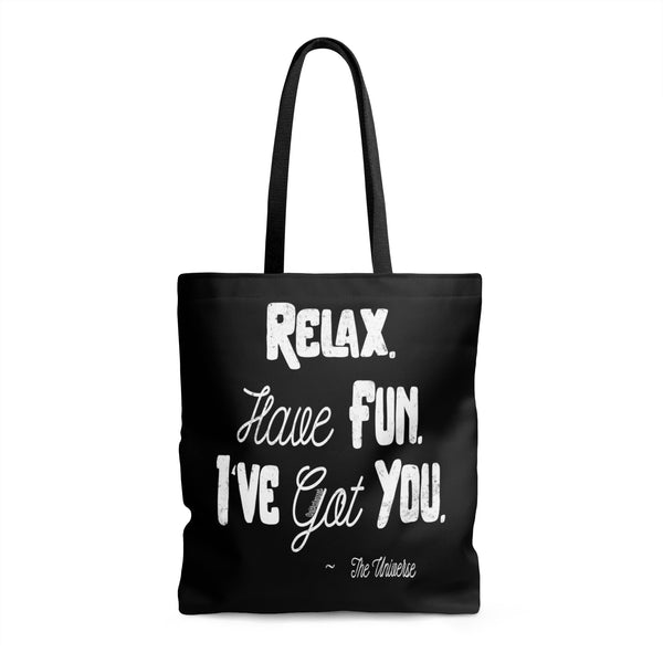 Relax. Have Fun. I've Got You. - Tote Bag | 3 Sizes