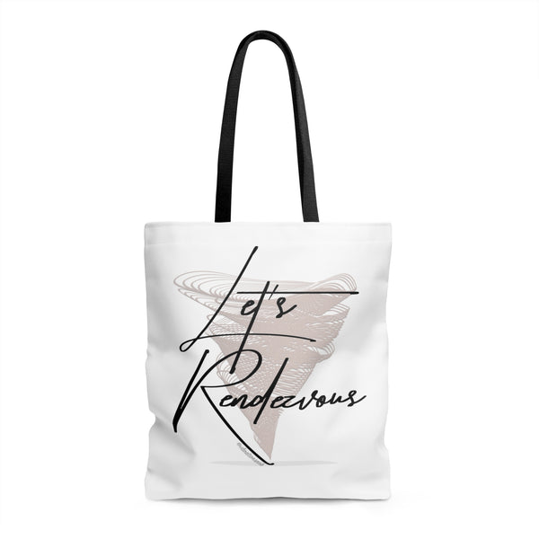Let's Rendezvous w/Vibration Snob Logo - Tote Bag | 3 Sizes